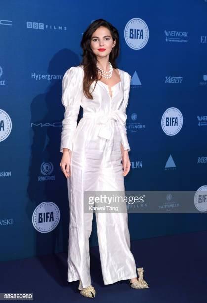 Doina Ciobanu attends the British Independent Film Awards held at Old Billingsgate on December 10 2017 in London England