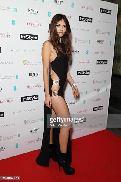 Doina Ciobanu attends the InStyle EE Rising Star PreBAFTA Party at 100 Wardour Street on February 4 2016 in London England