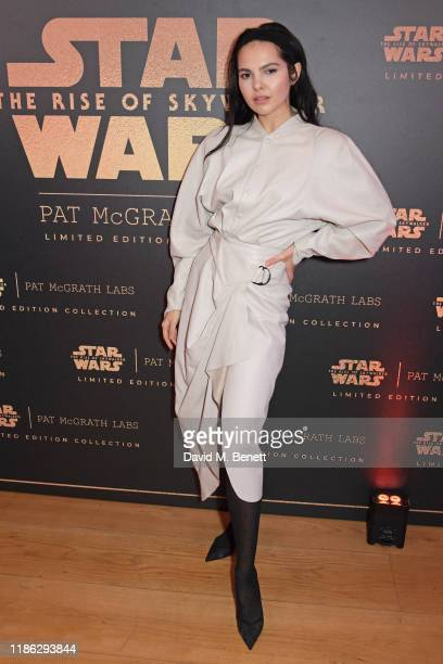 Doina Ciobanu attends the launch of the 'Star Wars: The Rise Of Skywalker Collection' with Pat McGrath Labs and Disney in the Penthouse Suite at The...