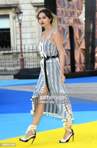 Doina Ciobanu attends the Royal Academy of Arts Summer Exhibition Preview Party at Burlington House on June 6 2018 in London England