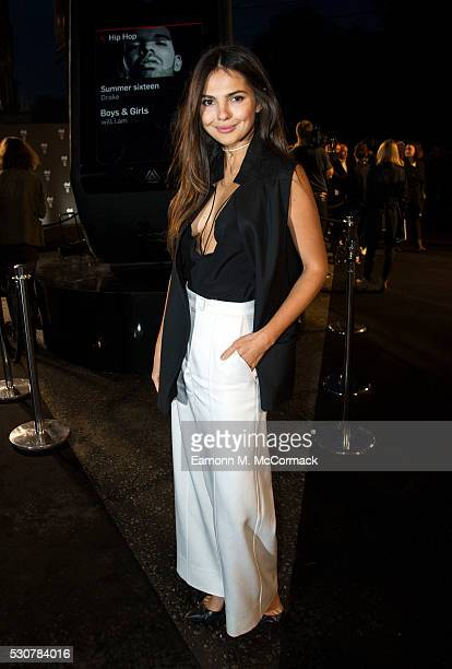 Doina Ciobanu attends WillIAm's launch of dial at royal albert hall gig featuring special guests at Royal Albert Hall on May 11 2016 in London England
