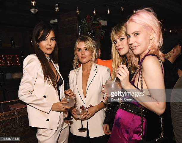 Doina Ciobanu Kara Rose Marshall guest and India Rose James attend a Christmas Tombola Fundraiser hosted by Luella Bartley and the Choose Love...