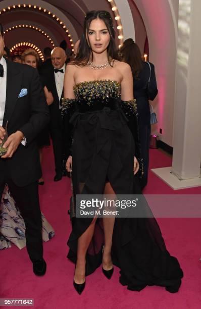 Doina Ciobanu wearing Bvlgari attends the Bvlgari FESTA Gala Dinner at Banqueting House on May 12 2018 in London England
