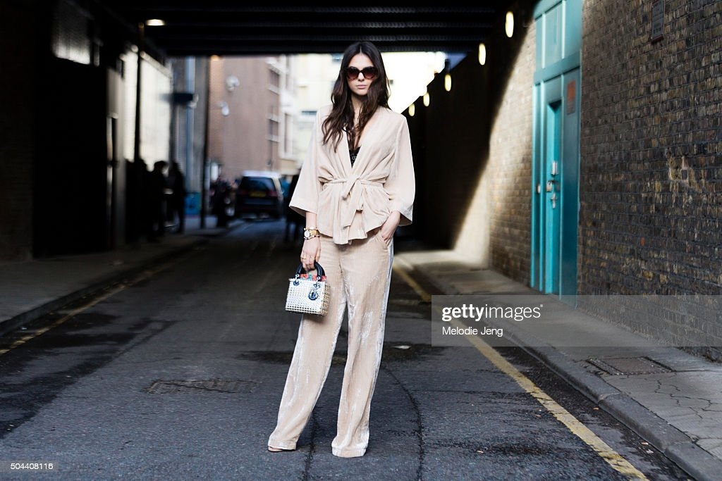 Street Style - London Collections Men AW16 : News Photo