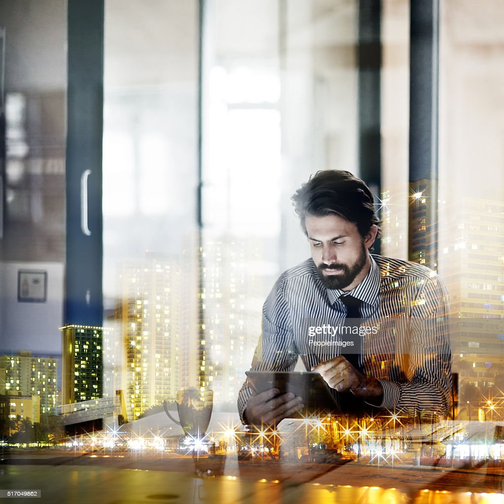 Doing business in today's world : Stock Photo