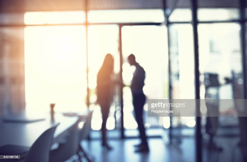Doing business together to get ahead : Stock Photo