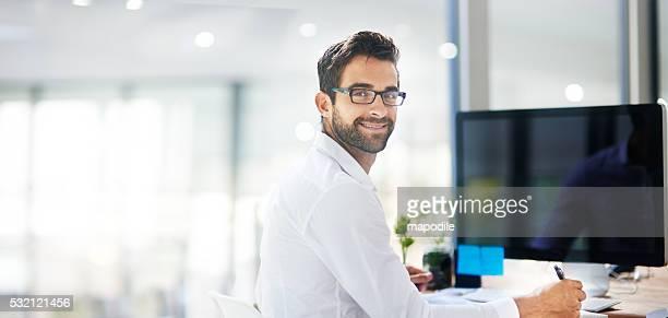 Geschäfte mit einem Lächeln