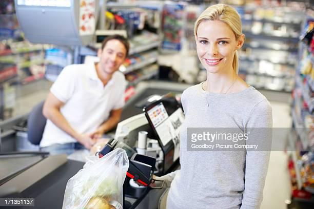 Ich meine monatlichen Lebensmittel-Einkaufsservice