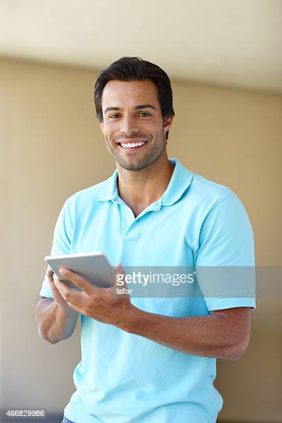 doing some browsing online - polo shirt stock pictures, royalty-free photos & images