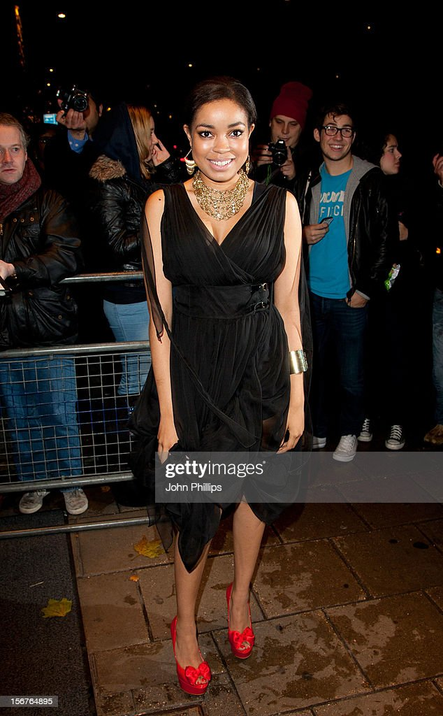 Doinne Bromfield attends The Amy Winehouse Foundation Ball>> on November 20, 2012 in London, England.