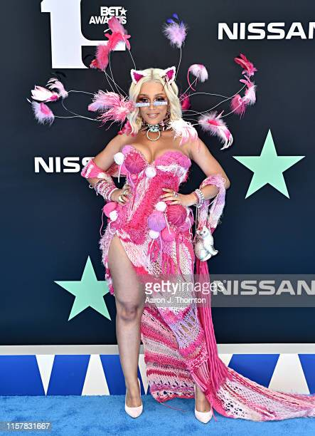 Doja Cat attends the 2019 BET Awards at Microsoft Theater on June 23 2019 in Los Angeles California