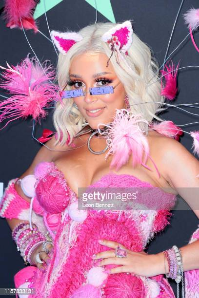 Doja Cat attends the 2019 BET Awards on June 23 2019 in Los Angeles California