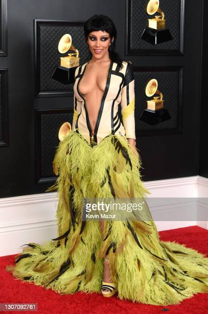 Doja Cat attends the 63rd Annual GRAMMY Awards at Los Angeles Convention Center on March 14, 2021 in Los Angeles, California.