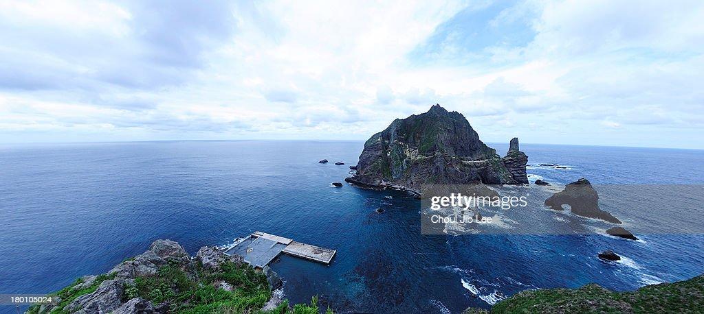 Dokdo island in Korea : ストックフォト