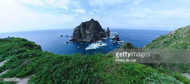 Dokdo Island in Korea