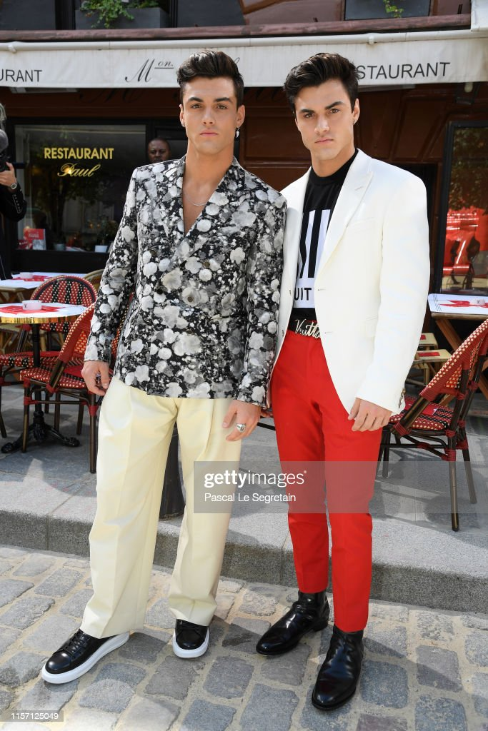 Dolan Twins Tour 2020 Dolan Twins attend the Louis Vuitton Menswear Spring Summer 2020