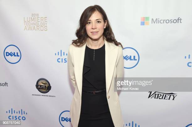 Dolby Laboratories Chief Scientist Poppy Crum attends the Advanced Imaging Society 2018 Lumiere Technology Awards Featuring The Distinguished...
