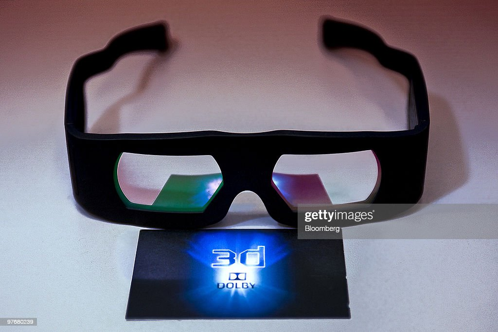 """Dolby """"Ghost-Busting"""" 3-D System Takes On Market Leader RealD : News Photo"""