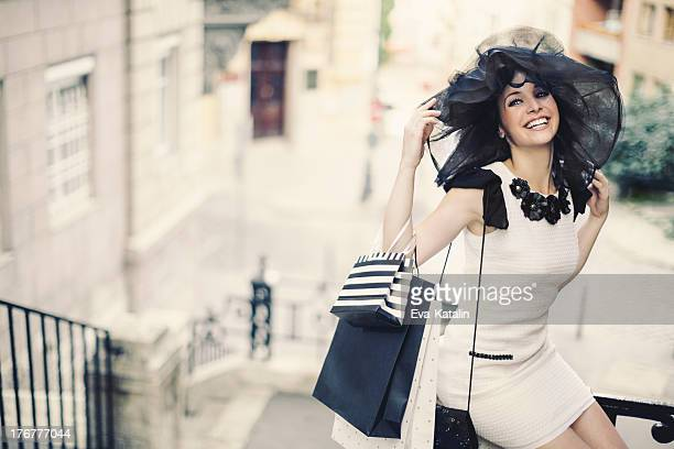 dolce vita - hat stock pictures, royalty-free photos & images