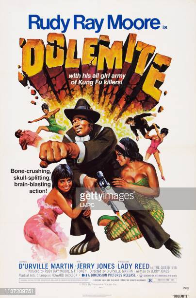 Dolemite poster US poster Rudy Ray Moore 1975