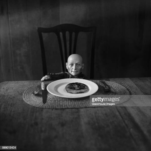 Doll and Dinner Table
