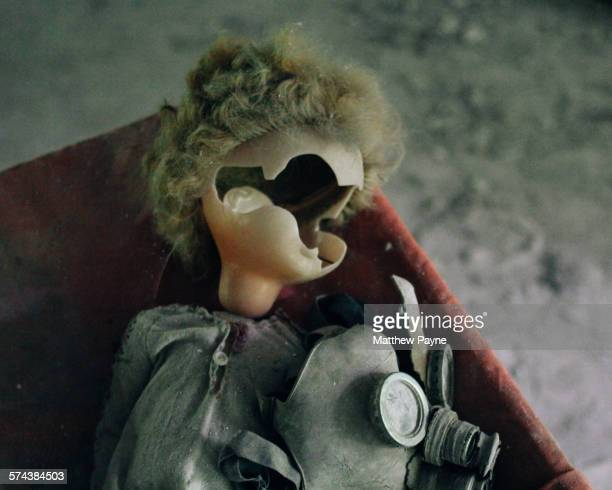 Doll and gas mask, Pripyat