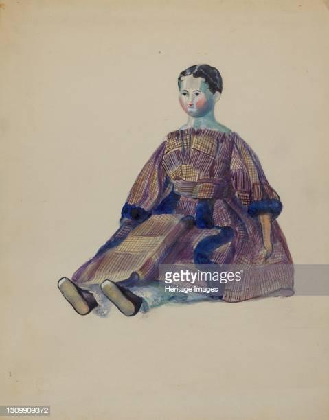 Doll, circa 1936. Artist Mina Lowry. .