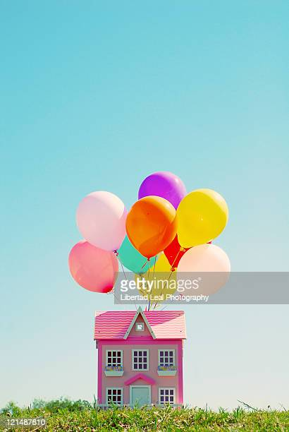 Doll House and Balloons