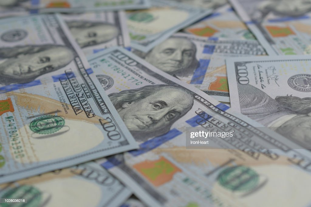 US dollar bank notes : Stock Photo