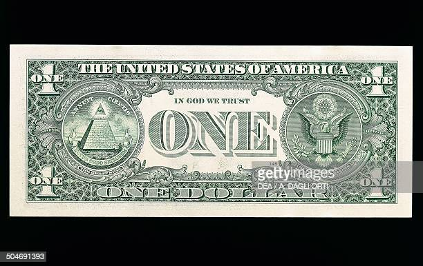 1 dollar banknote reverse United States of America 20th century