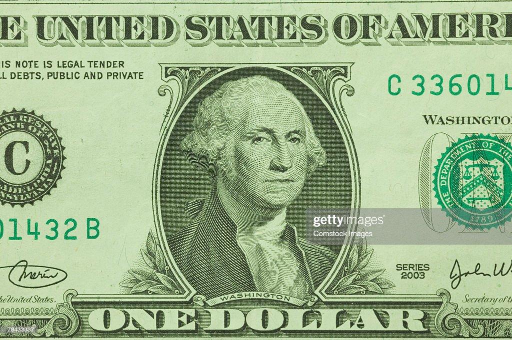Dollar bill : Stockfoto