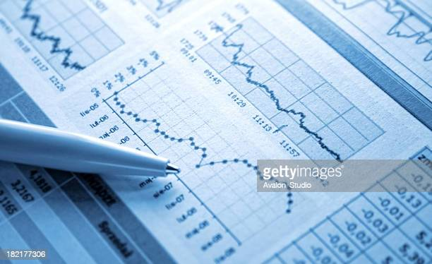 dollar chart - report document stock pictures, royalty-free photos & images