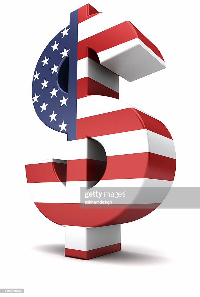 Us Dollar Currency Symbol Stock Photo Getty Images