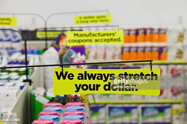 A Dollar General store The store has recently raised the height of its shelving to 78 inches increasing sales per square foot from $165 to about $195...