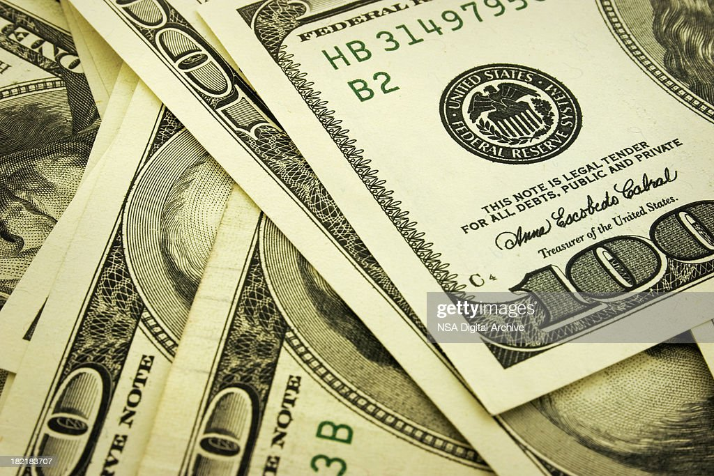 US Dollar Notes : Stock Photo