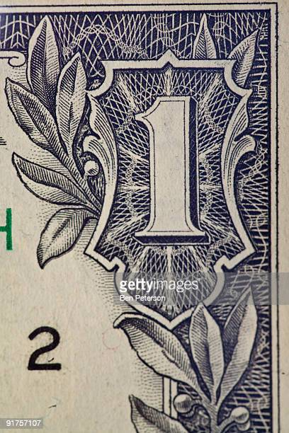 us dollar  - american one dollar bill stock pictures, royalty-free photos & images