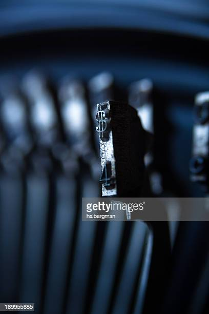 dollar sign type bar - dollar sign key stock photos and pictures
