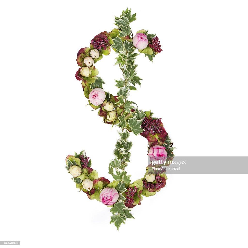 US dollar symbol : ストックフォト