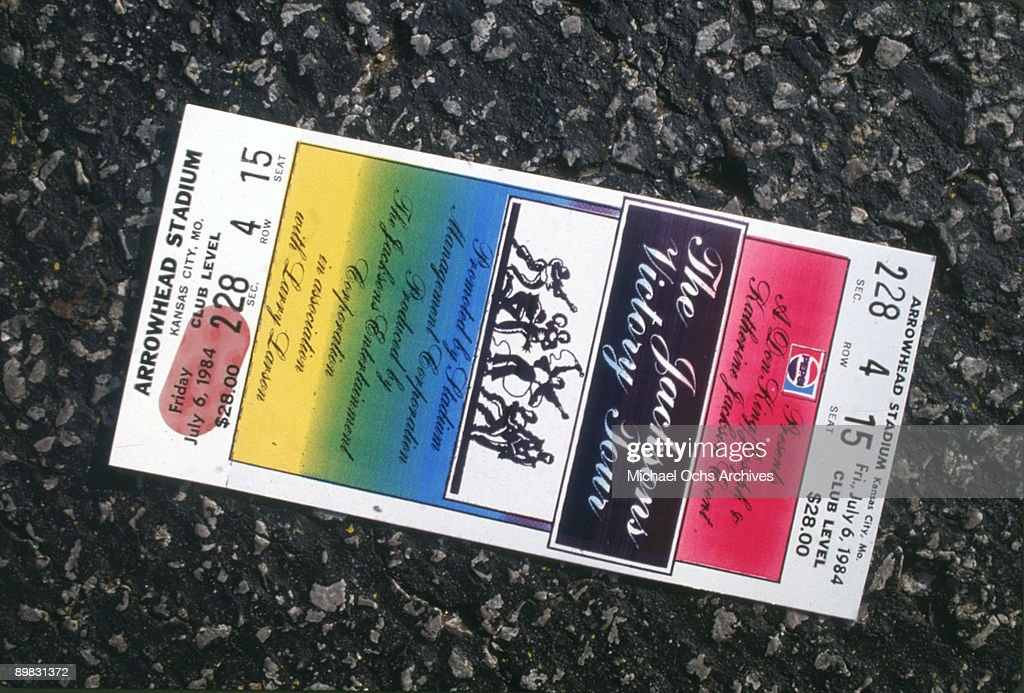 Victory Tour Ticket : News Photo