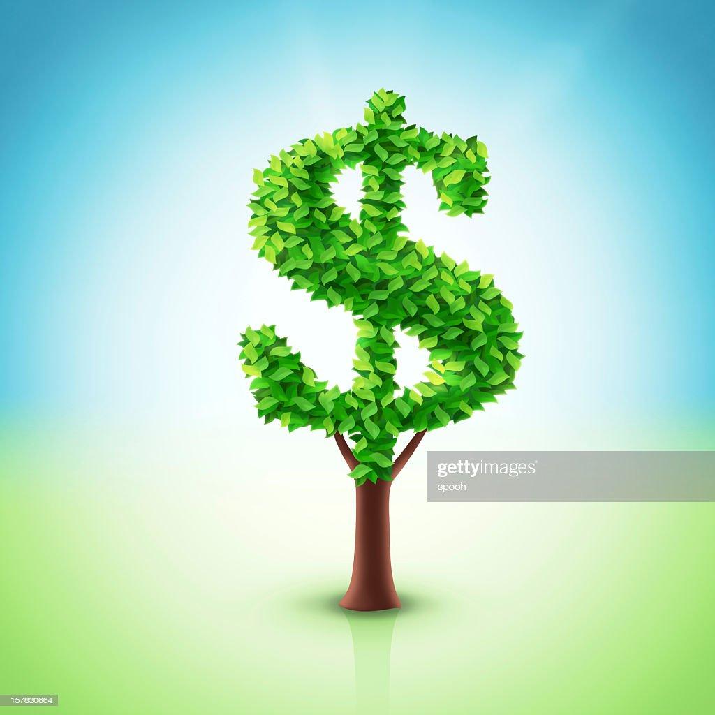 Dollar tree : Stock Photo