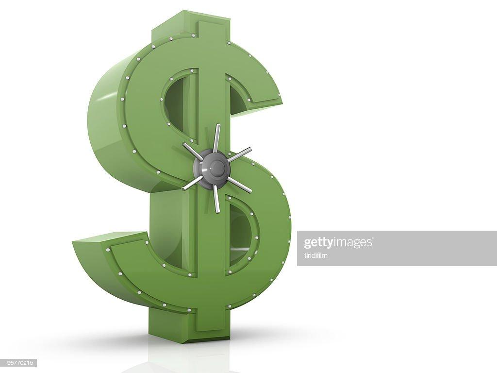 Dollar Vault : Stockfoto