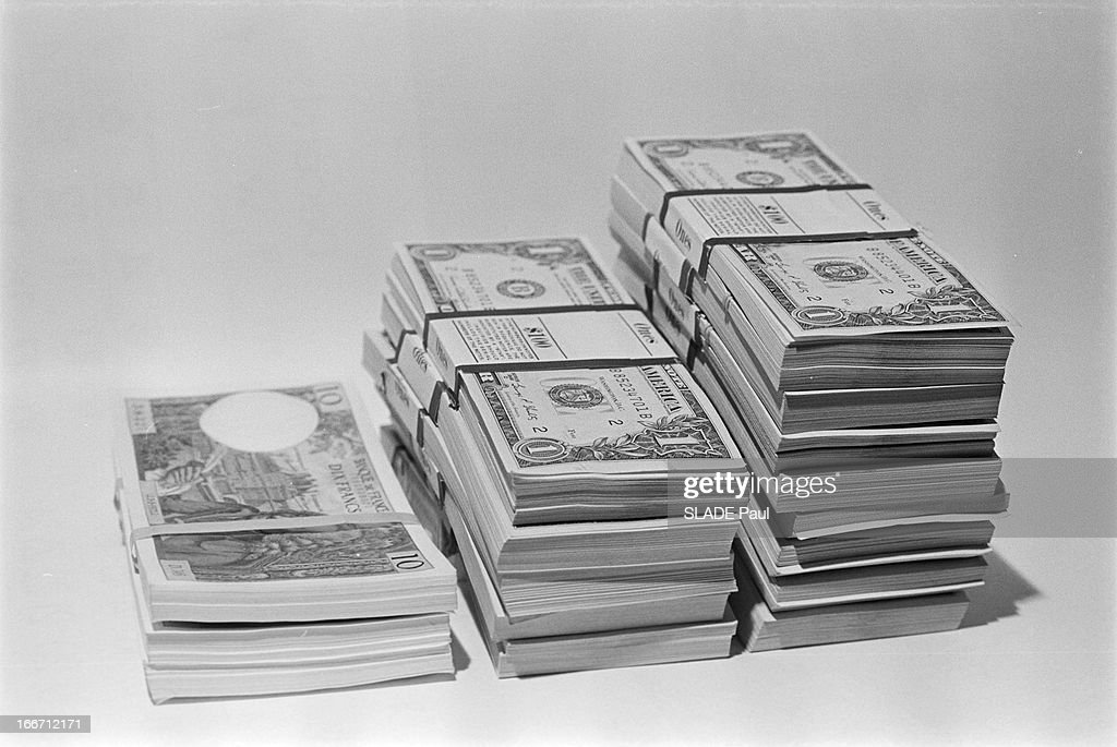 Dollars And Francs News Photo