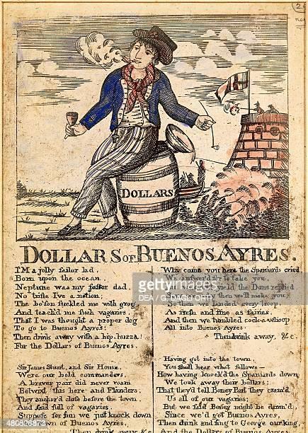 Dollars of Buenos Aires Caricature published in London 1819 Buenos Aires Museo Histórico Nacional Del Cabildo De La Ciudad De Buenos Aires Y De La...