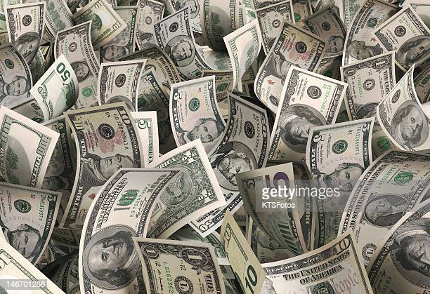 dollars - american one dollar bill stock pictures, royalty-free photos & images