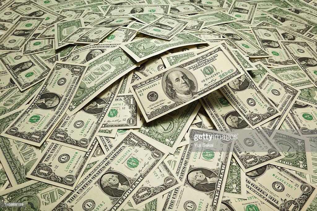 US dollart banknotes : Stock Photo