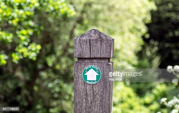 Dollis Valley Green Walk -  sign post