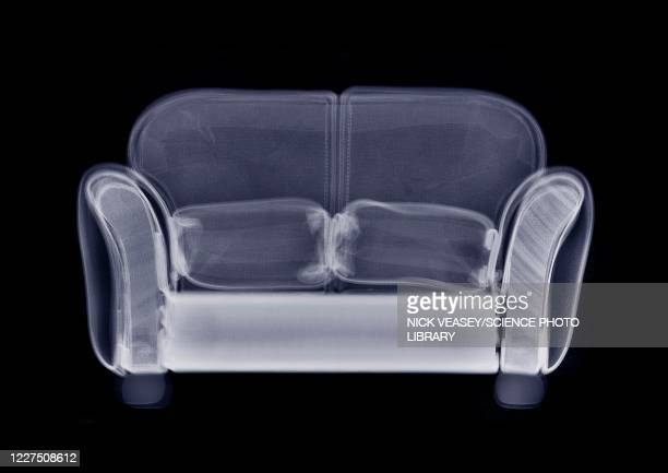 doll's house sofa, x-ray - two seater sofa stock pictures, royalty-free photos & images