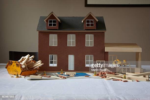 人形の家、延長の構造