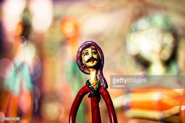 Dolls in handicraft fair