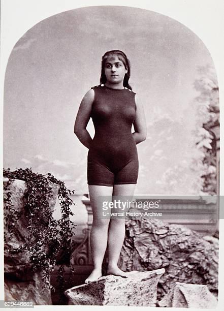 Dolly Adams the Water Queen Portrait circa 1880's